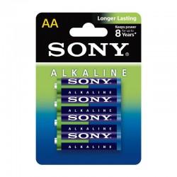 Sony AM3L-B4D Alkaline Blue AA x4
