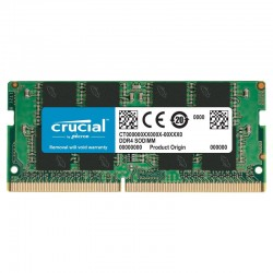 Crucial DDR4-2400 PC4-19200 8GB CL17 SO-DIMM