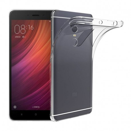 Funda Silicona Redmi Note 4 Transparente