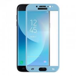 Cristal Templado Galaxy J7 Azul