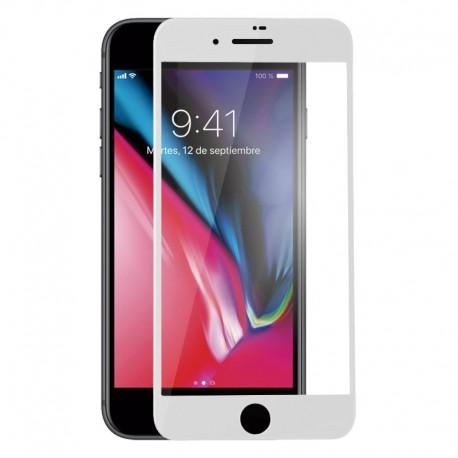 Cristal Templado iPhone 7 Blanco