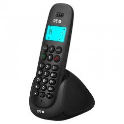 SPC Art Teléfono Inalámbrico Negro