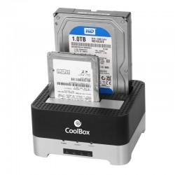 "CoolBox Docking Station/Clonador HD 2.5""/3.5"" USB 3.0"