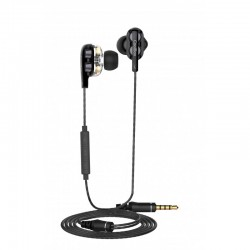 CoolBox CoolJoin Con Cable Dual Driver Negro