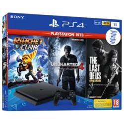 Sony PS4 PlayStation 4 Slim 1TB + 3 Juegos + SPIDERMAN