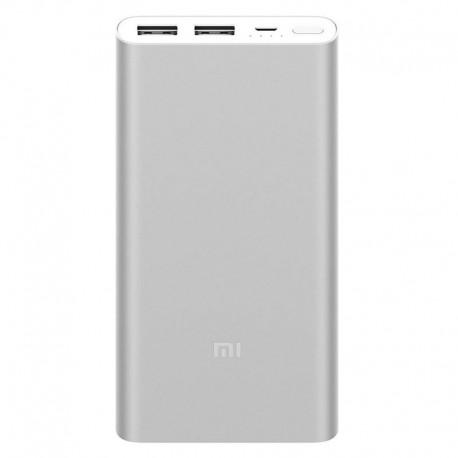 Xiaomi Mi PowerBank 2S 10000MAH plata