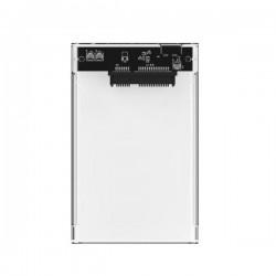 "CAJA HDD 2.5"" COOLBOX SCT-2533 USB3.0 Transparente"