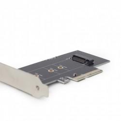 Adaptador M.2 SSD Tarjeta Complementaria PCI-Express con soporte extra de bajo perfil