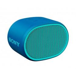 Altavoz SONY Inalámbrico Bluetooth Aux Micrófono Extra Bass y Resistente al Agua Azul