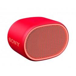 Altavoz SONY Inalámbrico Bluetooth Aux Micrófono Extra Bass y Resistente al Agua Rojo