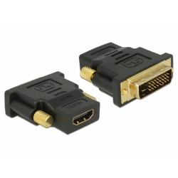 Adaptador Delock dvi 24+1 pin Macho HDMI Hembra