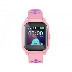 Leotec Kids Allo GPS Antipérdida SmartWatch Rosa