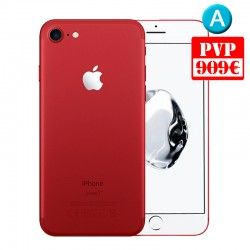 Apple iPhone 7 128GB Rojo Renew + Caja Genérica + Cable y Cargador