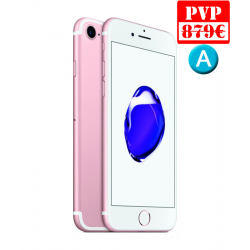 Apple iPhone 7 128GB Oro Rosa Renew + Caja Genérica + Cable y Cargador