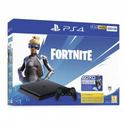 CONSOLA SONY PLAYSTATION 4 SLIM 500GB + FORTNITE VOUCHER 2019