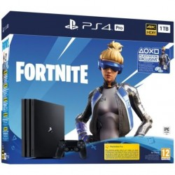 CONSOLA SONY PLAYSTATION 4 PRO 1TB + FORTNITE VOUCHER 2019