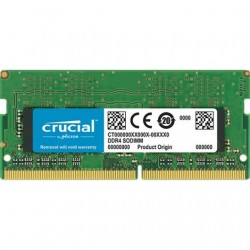 Crucial SO-DIMM DDR4 2400 PC4-19200 4GB CL17