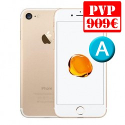 Apple iPhone 7 128GB Oro Renew + Caja Genérica + Cable y Cargador