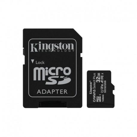 Kingston Canvas Select Plus MicroSD 32GB + Adaptador