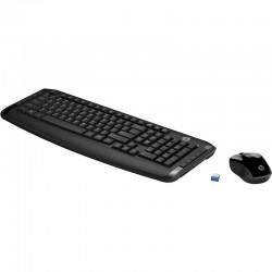 Teclado y ratón inalámbricos HP 300
