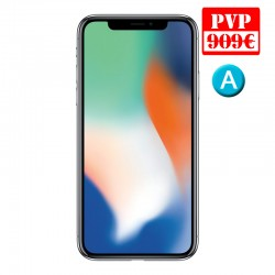 Apple iPhone X 256GB Plata Renew
