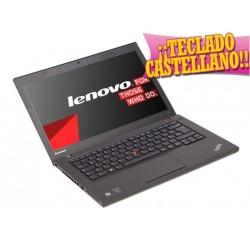 """LENOVO THINKPAD T440 i5-4300U/8GB/128GB-SSD/14""""HD/W8P/T.Castellano"""