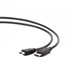Cable Displayport macho a HDMI Macho 1mt negro