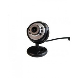 WEBCAM L-LINK LL-4186 8MP NEGRA/PLATA