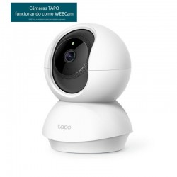 TP-LINK Tapo C200 Cámara IP 360º WiFi+WEBCAM