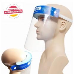 Máscara facial desechable con protector contra salpicaduras