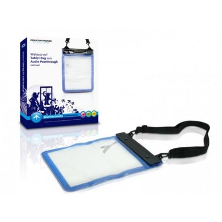 Funda acuática para Tablet Conceptronic con conector de audio