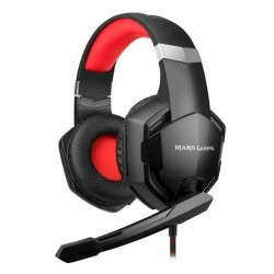 Mars Gaming MHX Auriculares Gaming Negro/Rojo