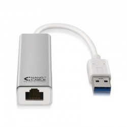 Adaptador USB A LAN nanocable de USB 3.0 a ethernet gigabit