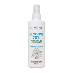 Spray 70% Alcohol limpieza perfumado MYHOME 250ml