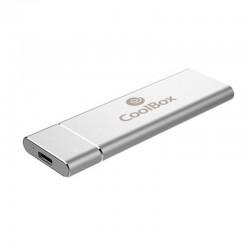 CoolBox miniChase N31 Carcasa Disco SSD M.2 NVMe a USB-C 3.1