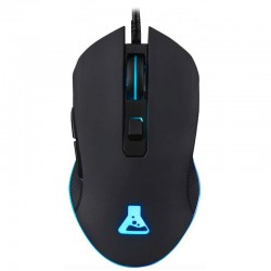 Raton optico gaming the G-Lab Cult-Helium gaming negro