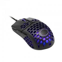 Ratón gaming Cooler Master MM711 RGB-LED 16000 DPI Negro