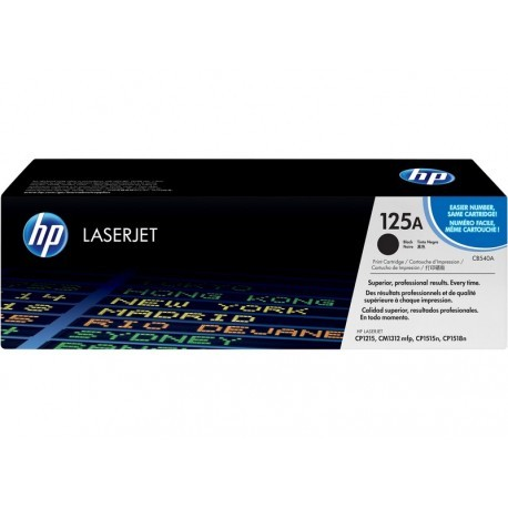 HP CB540A Nº125A Negro