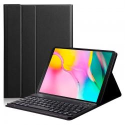 Funda con teclado para tablet Samsung TAB A T510/T515 Negra