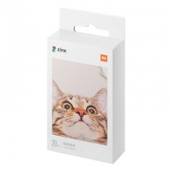 "Pack x20 Papel Fotográfico Xiaomi Mi Portable Photo Printer 2x3"""