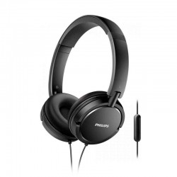 Auriculares con micrófono plegables PHILIPS SHL5005 Negro