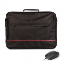 LAPTOP BAG+WIRED OPTICAL MOUSE NGS