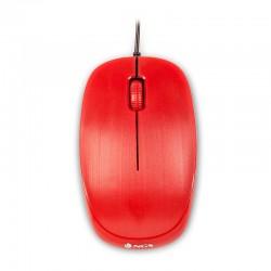 Ratón Óptico Con Cable Flame Rojo Ngs