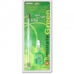 Tubo Luz Antec USB Externo Verde