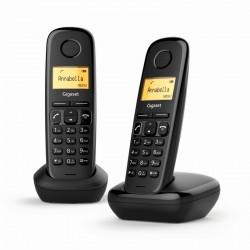 Siemens Gigaset A170 Duo Teléfono Inalámbrico Negro