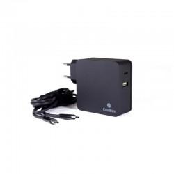 Adaptador para portátil Coolbox USB-C 60W