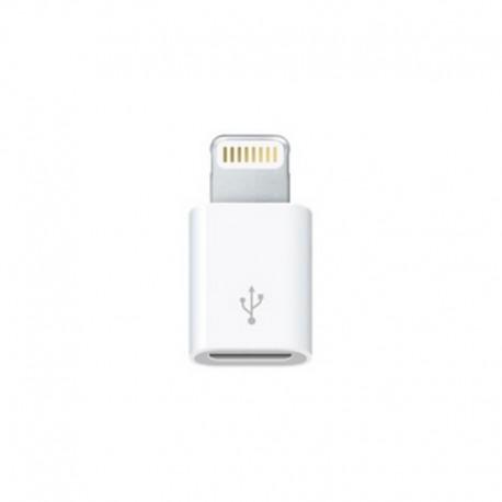 Apple Adaptador de conector Lightning a micro USB