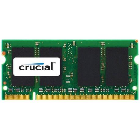 Crucial DDR2 800 PC2-6400 2GB SO-DIMM