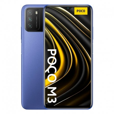 "Xiaomi Poco M3 6.57"" SM6115 4+64B 48/2/2-8Mp Blue"