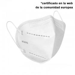Mascarilla de protección KN95 5 CAPAS - CAJA 5 UNIDADES